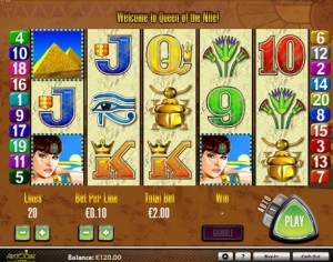 Queen of nile spiele